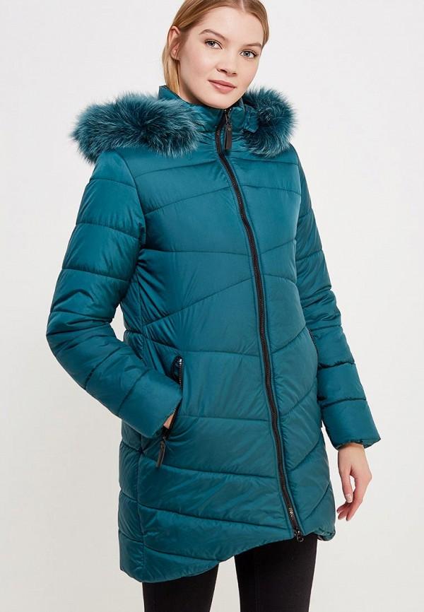 Куртка утепленная SK House #2211-7034 тем-зел.