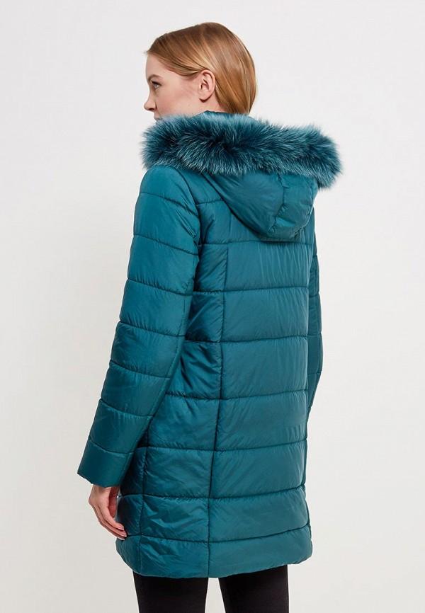 Куртка утепленная SK House #2211-7034 тем-зел. Фото 3