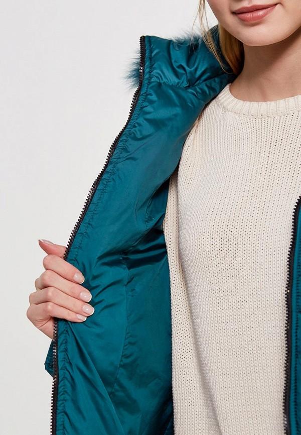 Куртка утепленная SK House #2211-7034 тем-зел. Фото 4