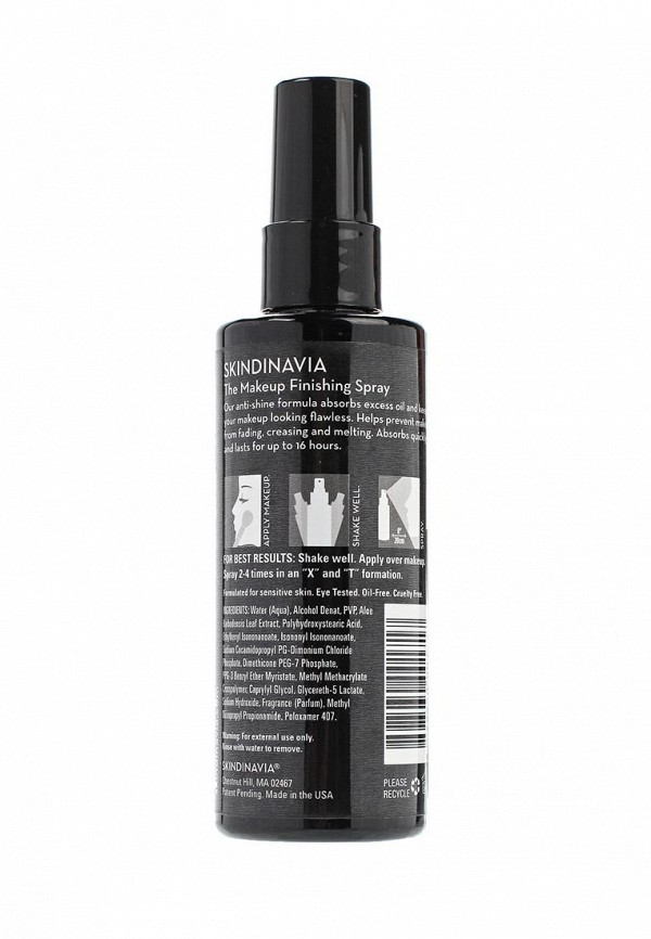Спрей для фиксации макияжа Skindinavia для жирной кожи  The Makeup Finishing Spray Oil Control