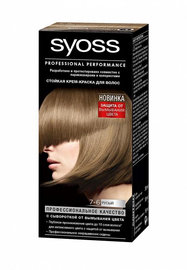 Краска для волос Syoss Color 7-6 Русый, 50 мл