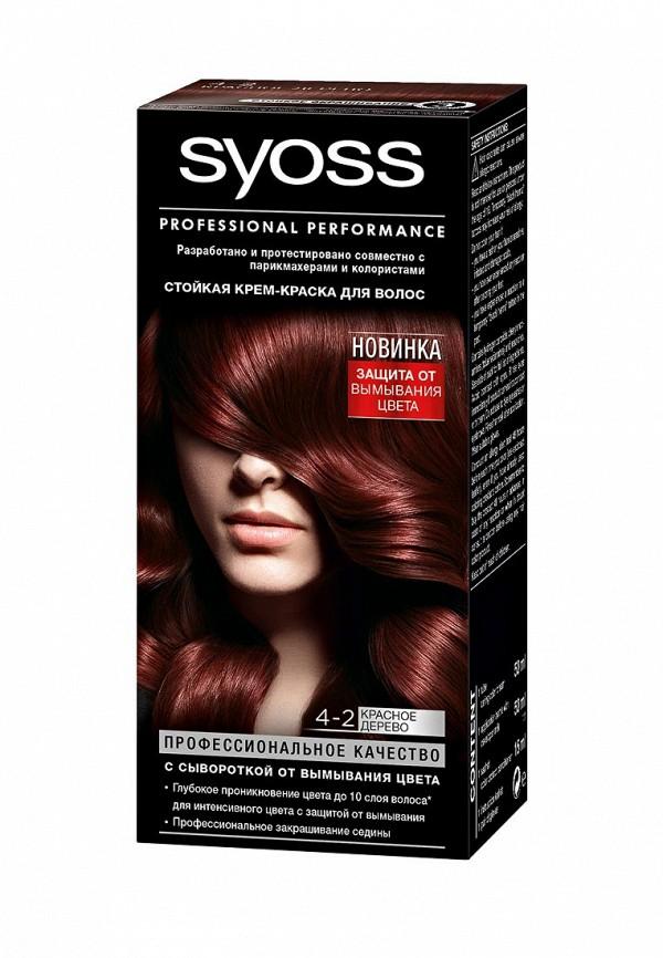 Краска для волос Syoss Color 4-2 Красное дерево, 50 мл