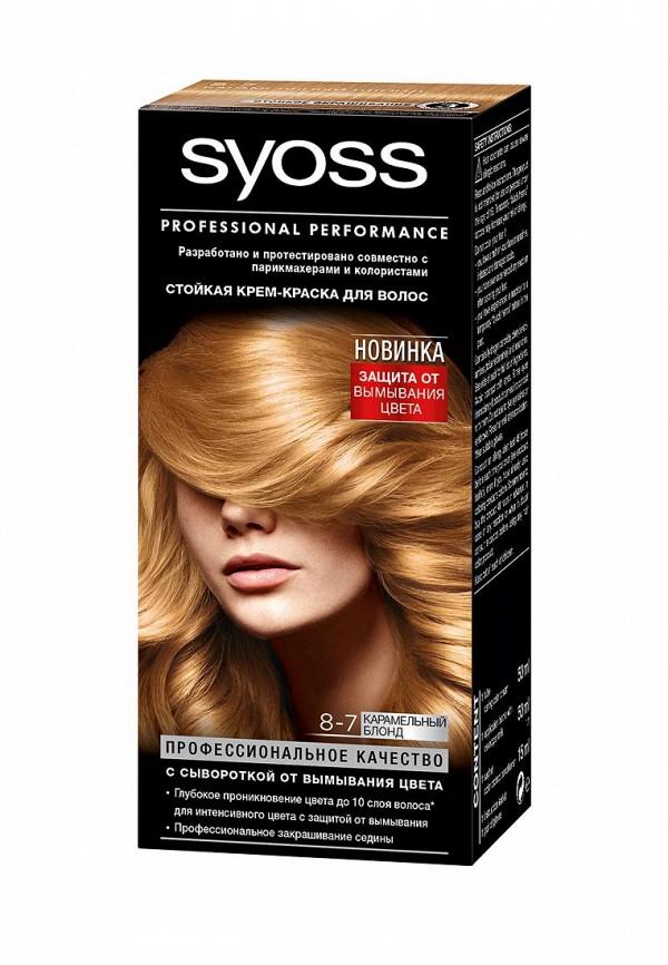 Краска для волос Syoss Color 8-7 Карам Блонд, 50 мл