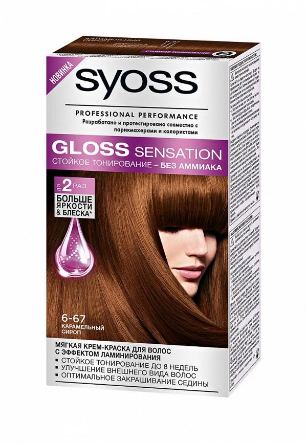Крем-краска для волос Syoss 6-67 Карамельный сироп, 115 мл