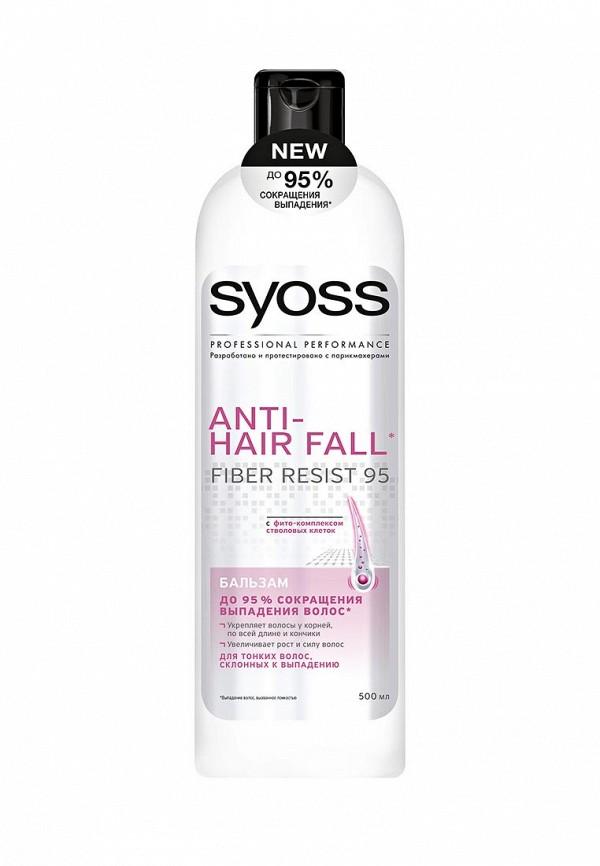 Бальзам Syoss ANTI-HAIR FaLL для тонких волос склонных к выпадению, 500 мл