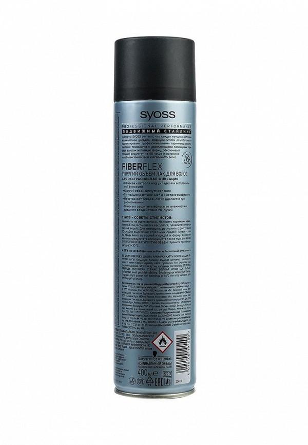 Лак для волос Syoss FiberFlex Упругий Объем для волос экстрасильной фиксации, 400 мл