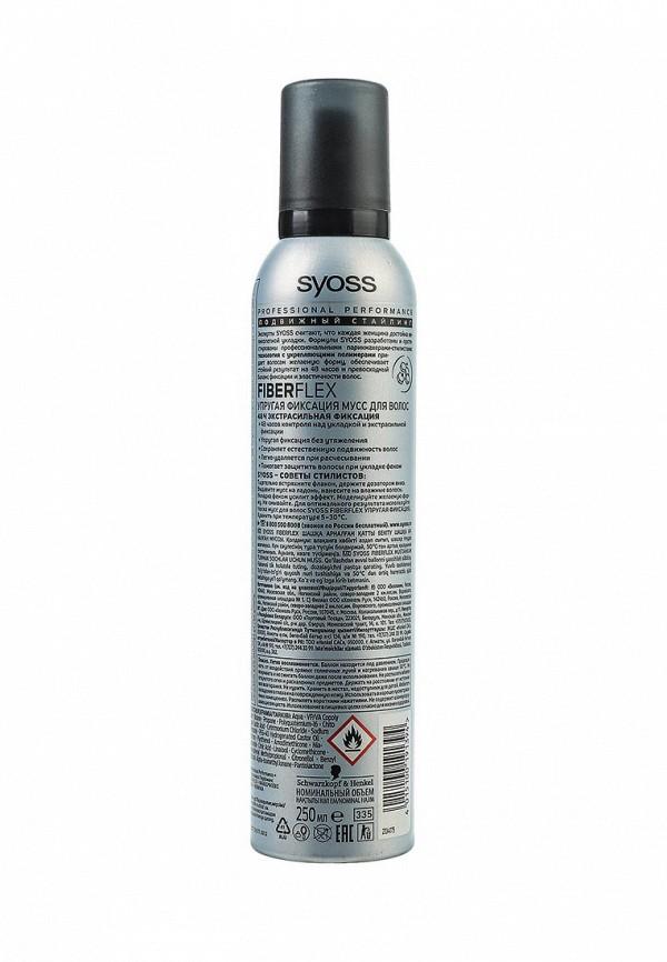 Мусс Syoss FiberFlex Упругая Фиксация для волос экстрасильной  фиксации, 250 мл