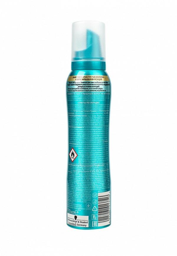 Пена Taft для укладки Густые и Пышные для тонких и ослабленных волос сверхсильная фиксация, 150 мл