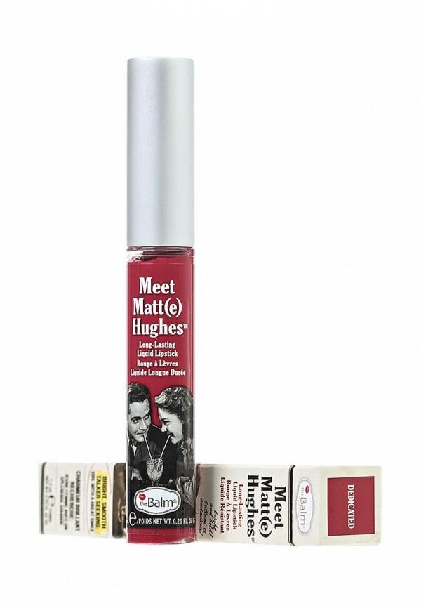 Блеск theBalm Стойкий матирующий для губ Meet Matt(e) Hughes Dedicated