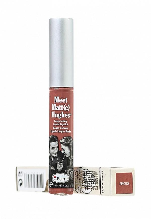 Блеск theBalm Стойкий матирующий для губ Meet Matt(e) Hughes Sincere