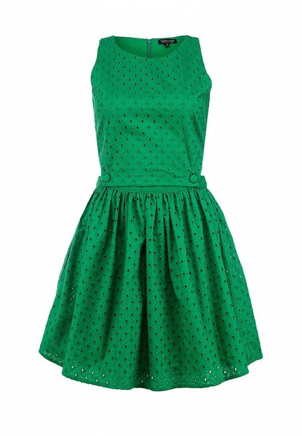 Платье-мини Topshop (Топ Шоп) 10X17HGRN: изображение 1