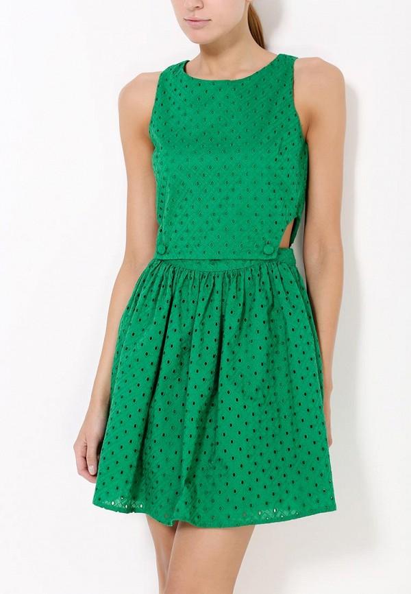 Платье-мини Topshop (Топ Шоп) 10X17HGRN: изображение 2
