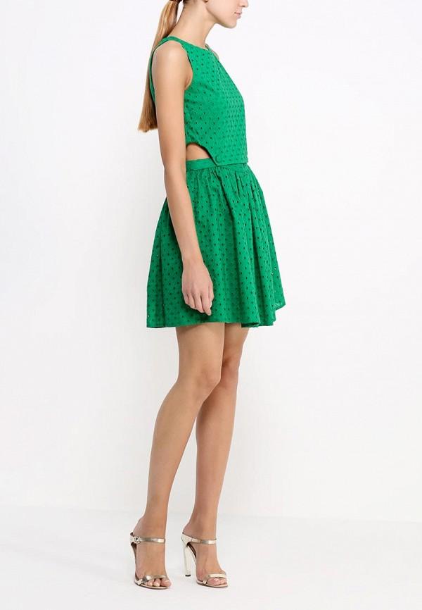 Платье-мини Topshop (Топ Шоп) 10X17HGRN: изображение 3