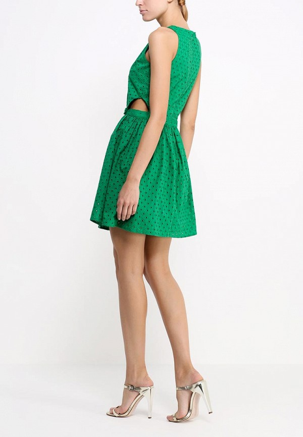 Платье-мини Topshop (Топ Шоп) 10X17HGRN: изображение 4