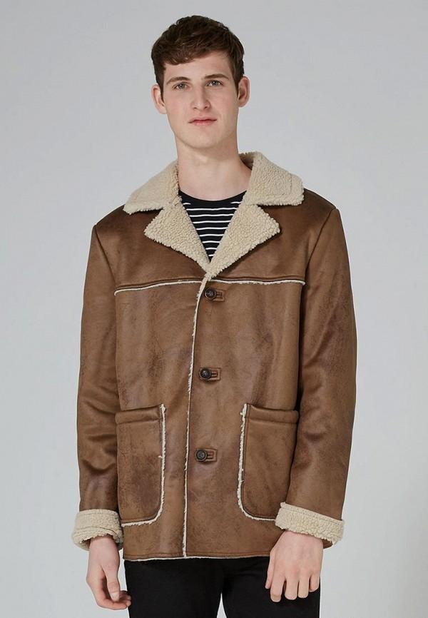 Куртка кожаная Topman 64M22PTAN