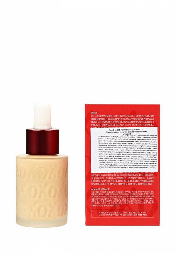 Средство Touch in Sol Универсальное для стойкого макияжа Flawlessskin top Coat, №1, 35 мл