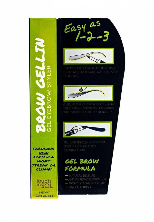 Гель Touch in Sol для бровей Brow Gellin gel eyebrow styler, №1 Phoebe 16 г