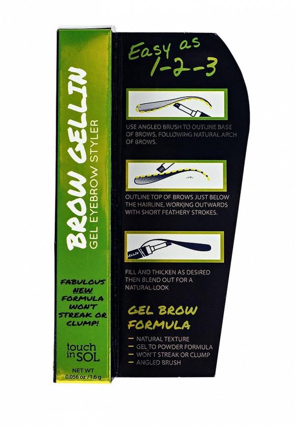 Гель Touch in Sol для бровей Brow Gellin gel eyebrow styler, №3 Monica 16 г