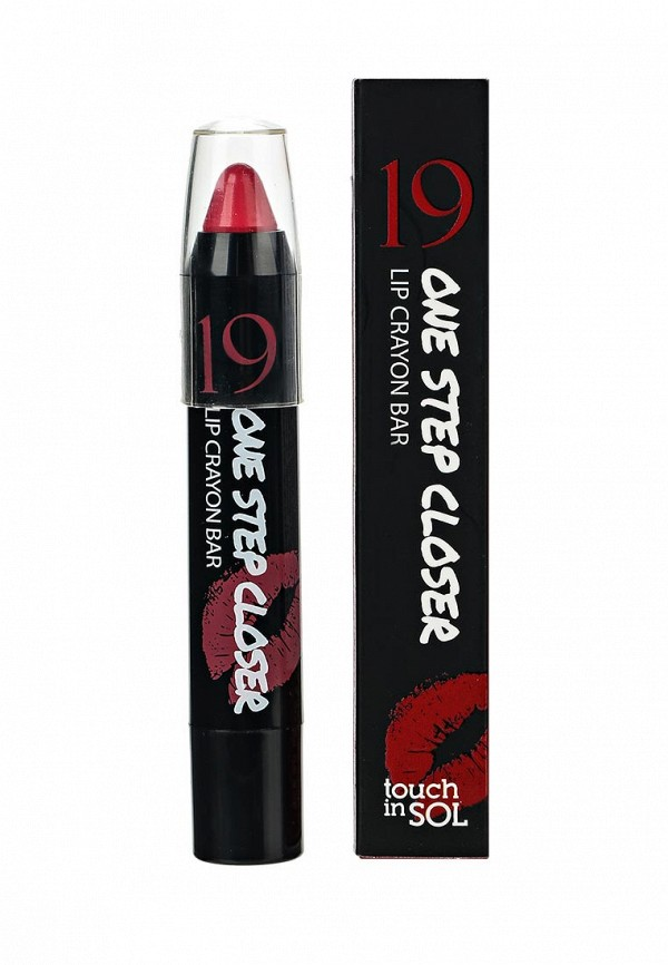 Декоративная косметика Touch in Sol для губ One Step Closer Lip Crayon Bar, №3 P.S Cherry Parfait, 2,5г