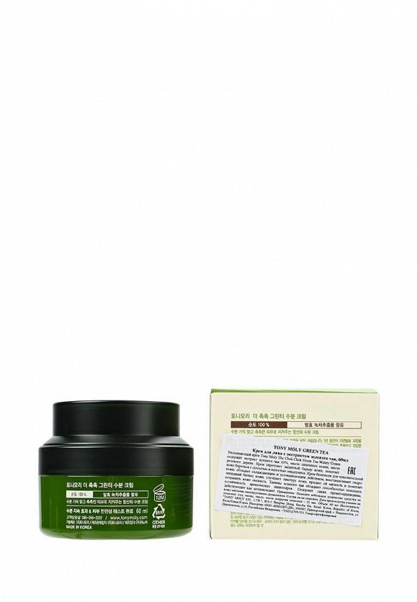 Крем Tony Moly для лица с экстрактом зеленого чая, 60 мл