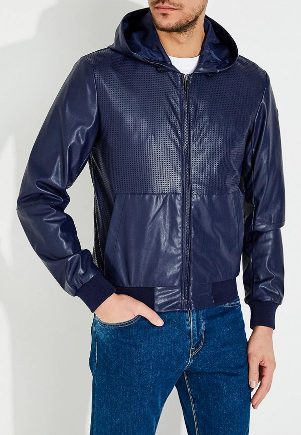 Куртка кожаная Trussardi Jeans 52s00150