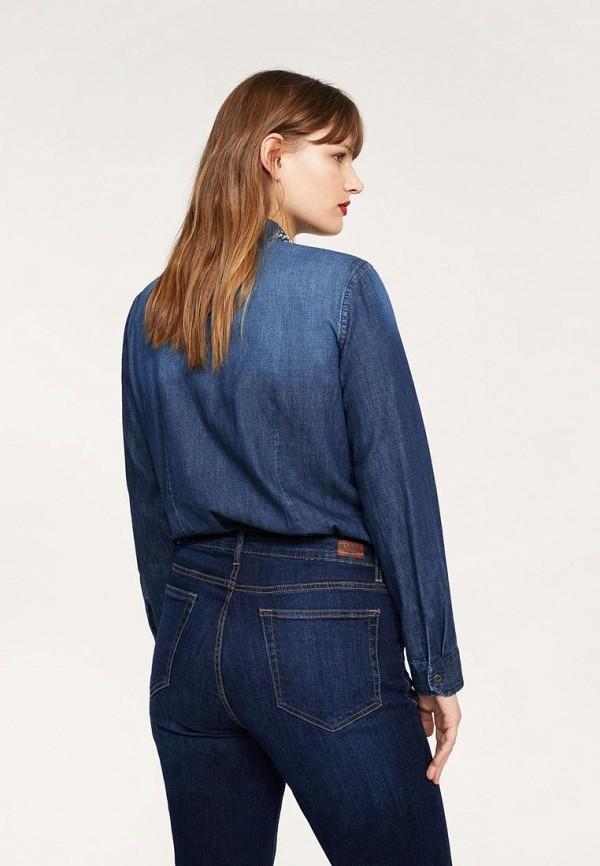 Рубашка джинсовая Violeta by Mango 23080592 Фото 2