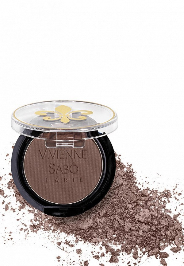 Декоративная косметика Vivienne Sabo для век устойчивые, Eyeshadow Longlasting Mono, тон 115