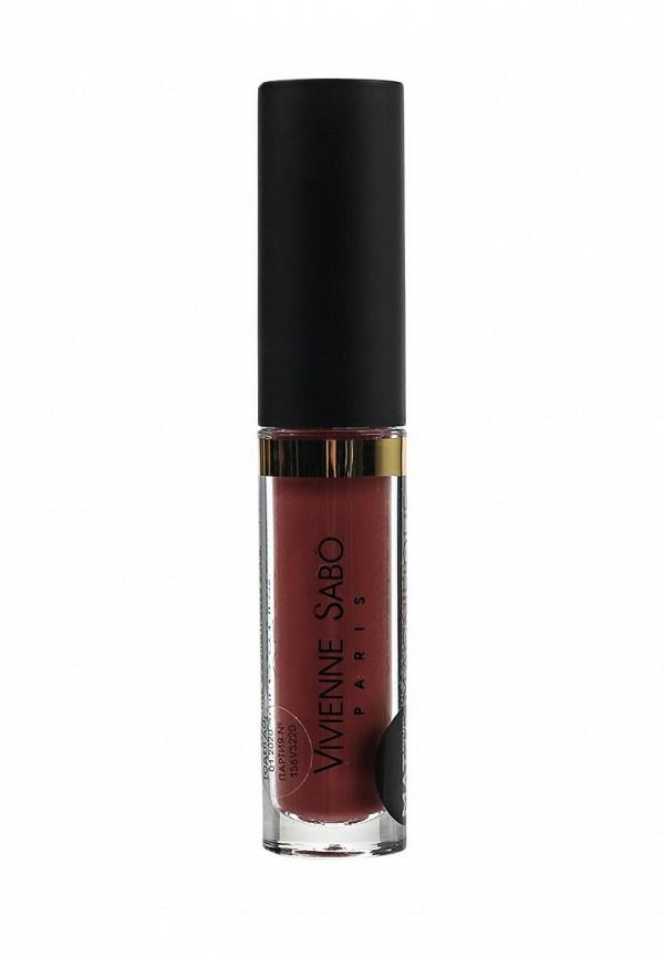 Помада Vivienne Sabo Матовая жидкая для губ, Velvet Liquid lipstick, тон 220