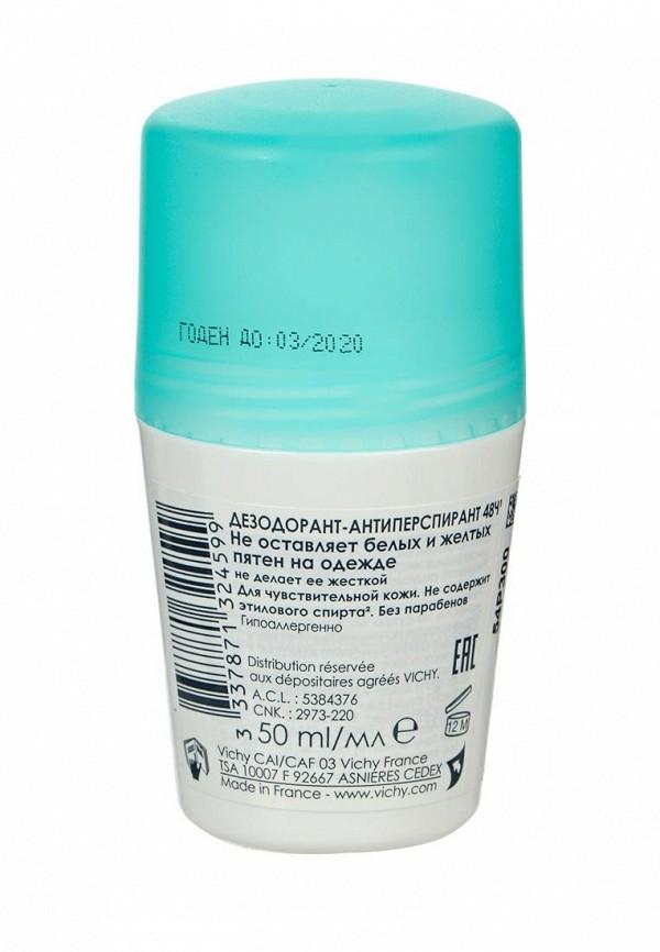 Дезодорант Vichy Дезодорант-антиперспирант 48 ч шариковый Vichy Deodorants против белых и желтых пятен 50 мл