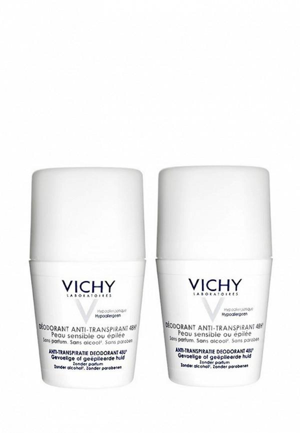 Дезодорант Vichy DUO для чувствительной  кожи 48 ч,  50 гр