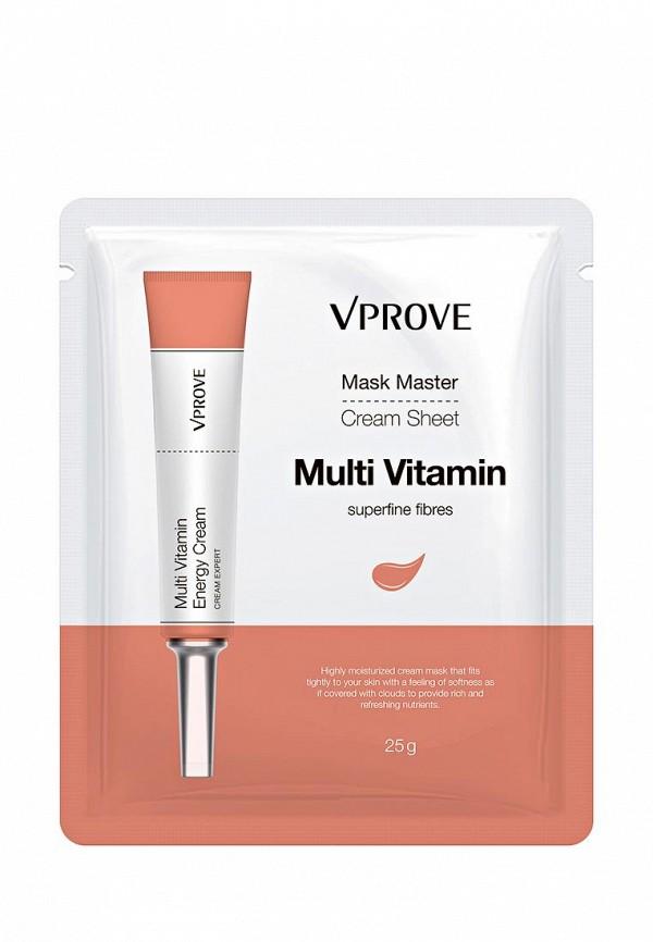Маска для лица Vprove Кремовая Mask Master с витаминами, тонизирующая, 25 г