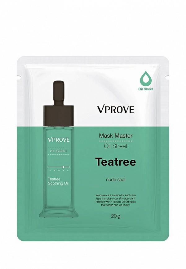 Маска для лица Vprove на масляной основе Mask Master с чайным деревом, противовоспалительная, 20 г