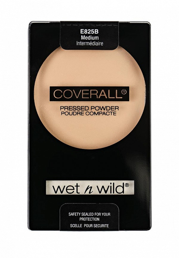 Пудра Wet n Wild Компактная Coverall Pressed Powder E825b medium