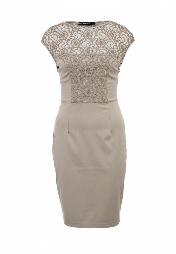Элегантное платье с кружевными вставками Xarizmas