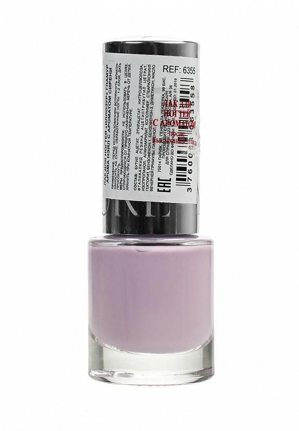 Лак Yllozure ароматизированный для  ногтей GLAMOUR, сирень.