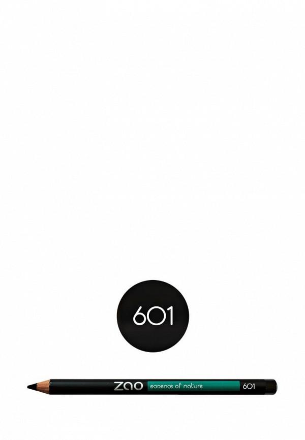 Карандаш для глаз ZAO Essence of Nature 601 черный