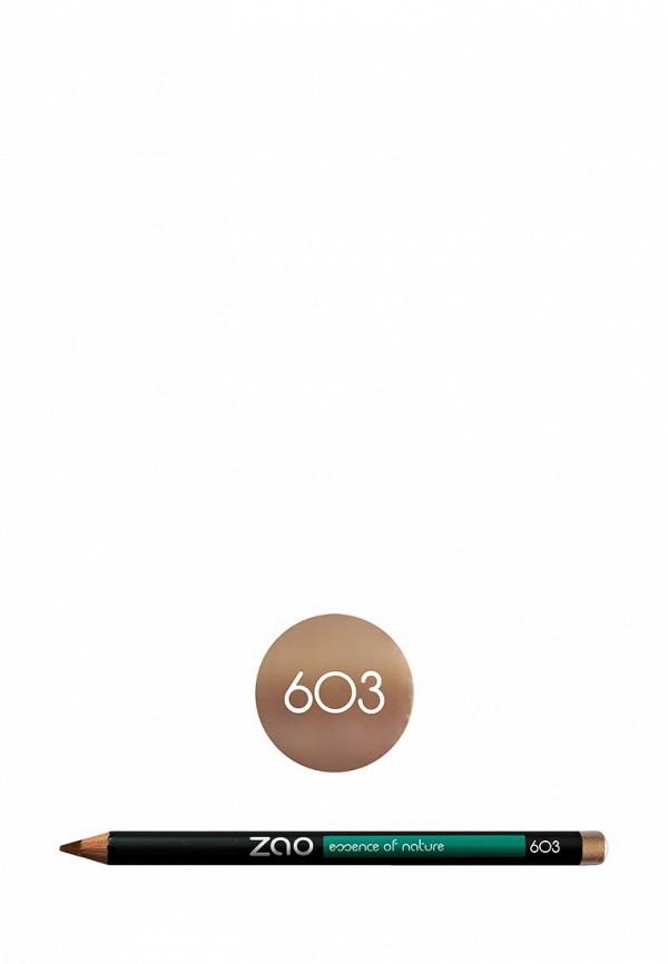 Карандаш для глаз ZAO Essence of Nature 603 бежевый