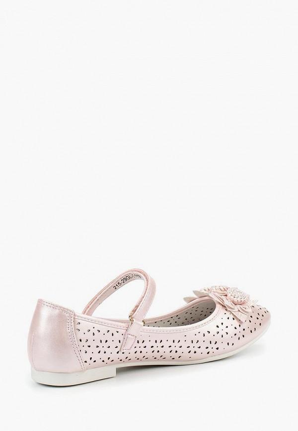 Туфли для девочки Zenden Collection 215-29GL-015SK Фото 2
