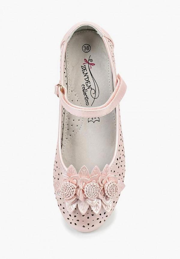 Туфли для девочки Zenden Collection 215-29GL-015SK Фото 4