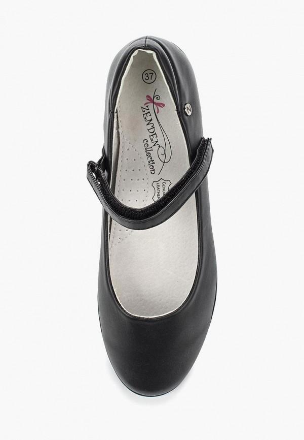 Туфли для девочки Zenden Collection 215-30GL-030SK Фото 4