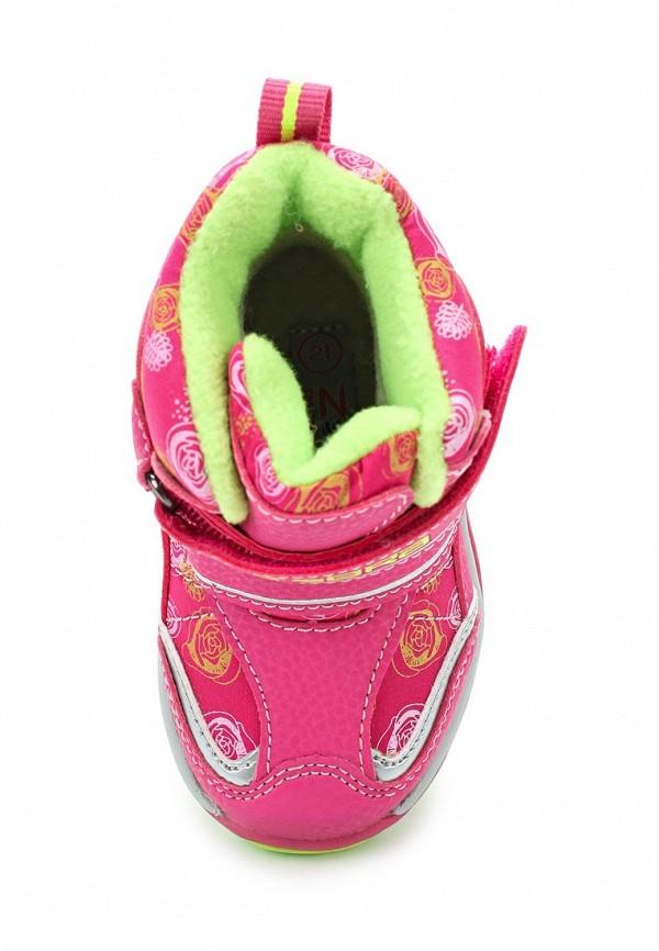 Ботинки для девочки Зебра 11004-9 Фото 4