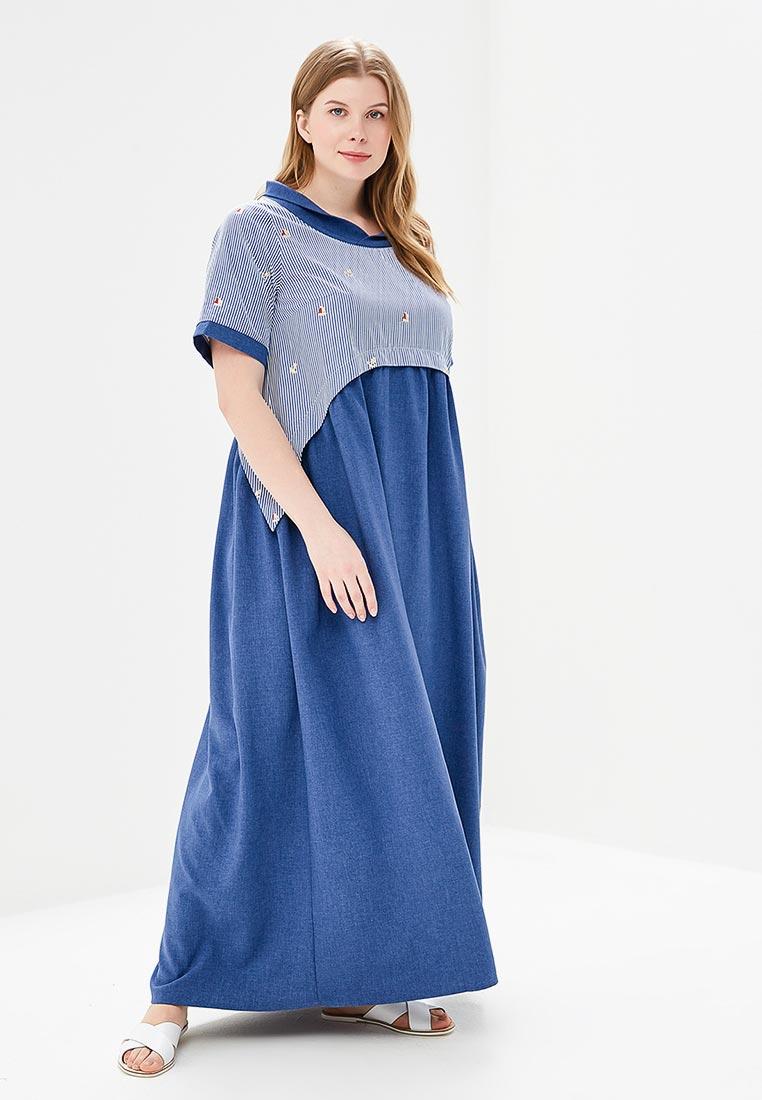 Летнее платье Aelite 11250/BLGO