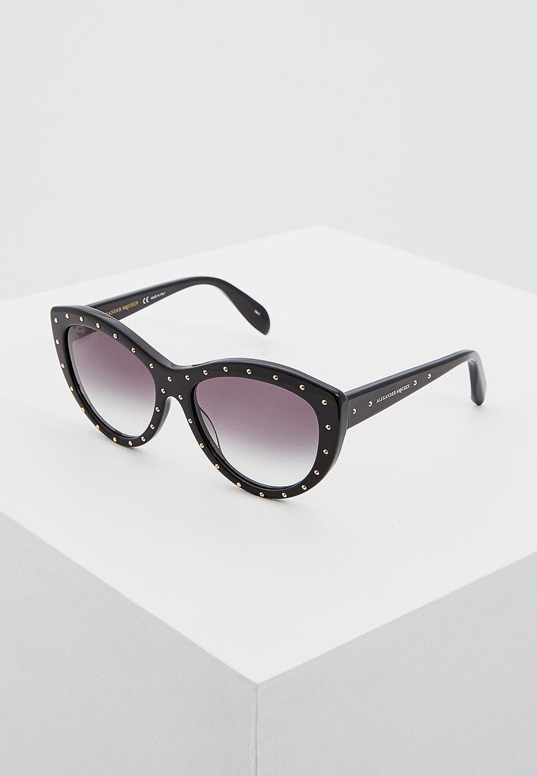 Женские солнцезащитные очки Alexander McQueen AM0056S