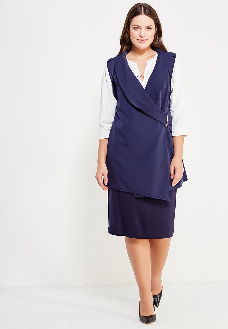 Миди-юбка Amarti 6-001/синий: изображение 6