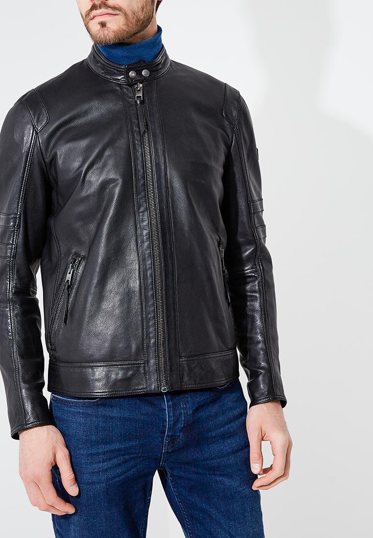 Кожаная куртка Boss Hugo Boss 50387317