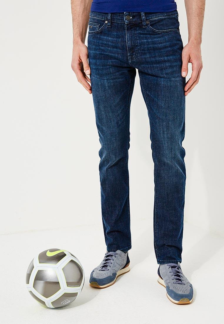 Мужские прямые джинсы Boss Hugo Boss 50389665