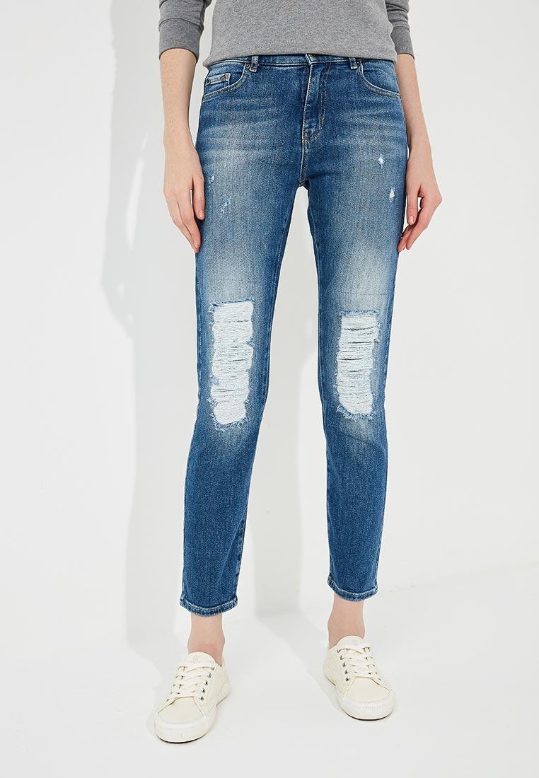 Зауженные джинсы Boss Hugo Boss 50389244