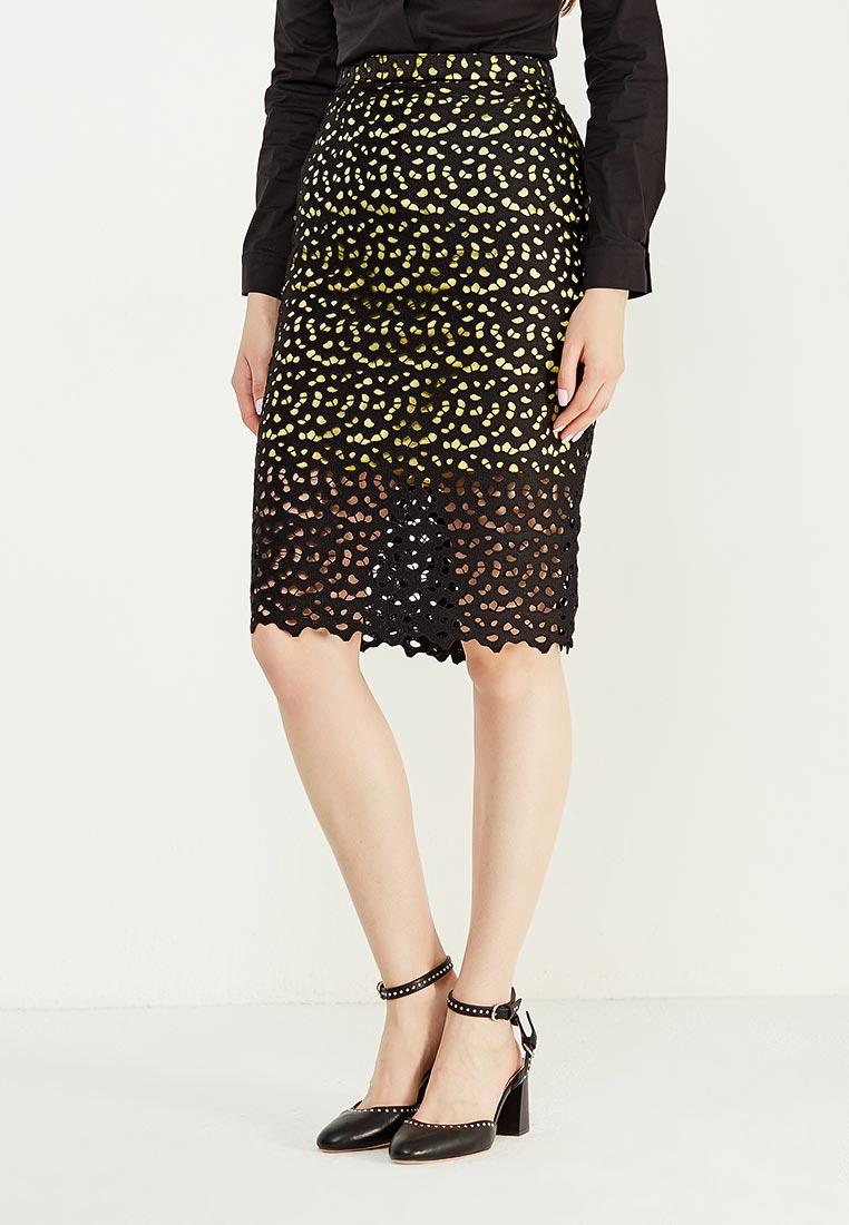 Прямая юбка Boutique Moschino A0102
