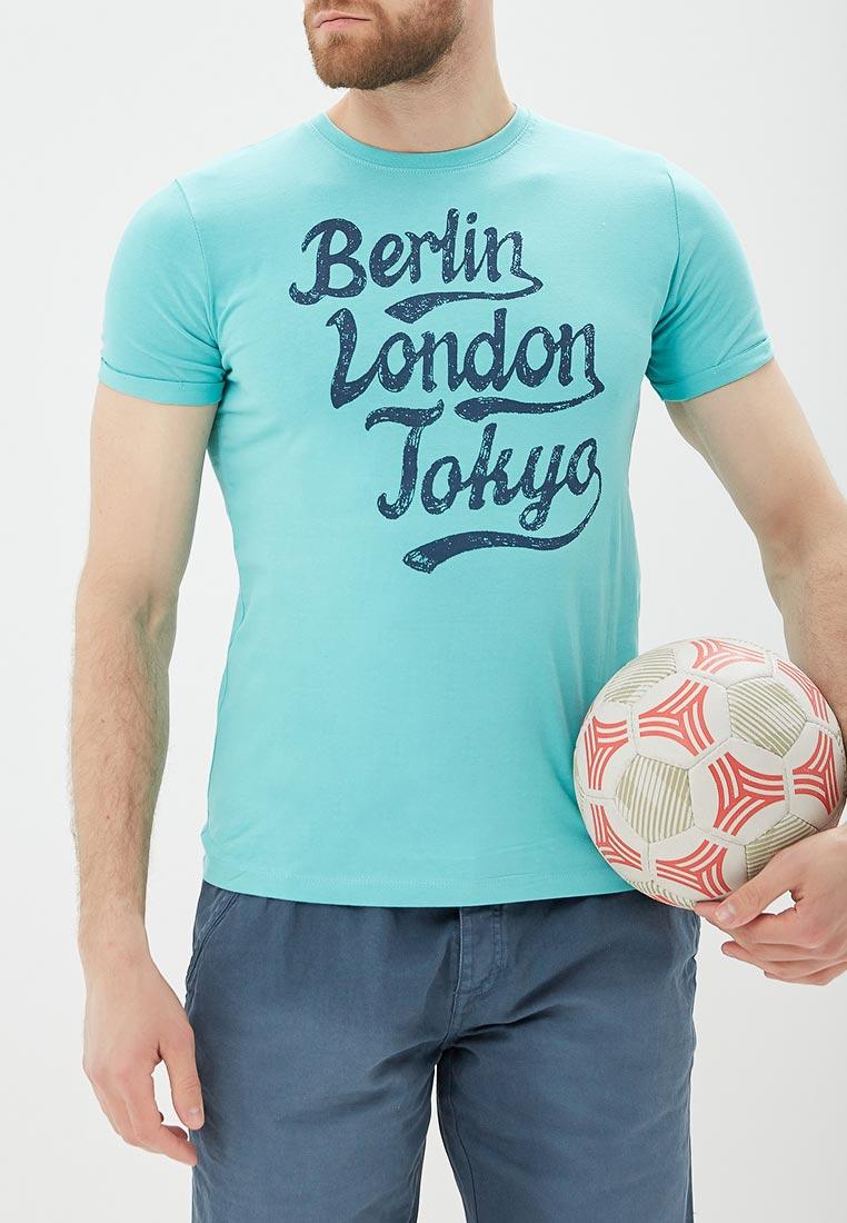 Футболка с коротким рукавом Bruebeck 88210