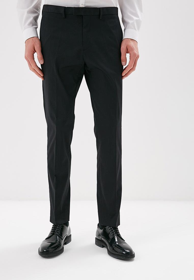 Мужские зауженные брюки Burton Menswear London 23K27LBLK